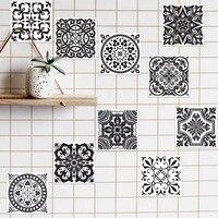 3D Removable Mosaic Tiles DIY Decals Decorative Wall Sticker Home Decor Room Kitchen Bathroom Decoration Mirror Art Designer
