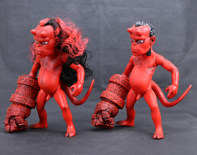 ФОТО New Dark Horse Comics Classic Comic Animation Hellboy Normal and Long Hair Version 26cm Action Figure