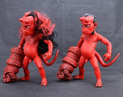 Nouveau cheval foncé bande dessinée classique Animation bande dessinée Hellboy cheveux normaux et longs Version 26 cm figurine d'action