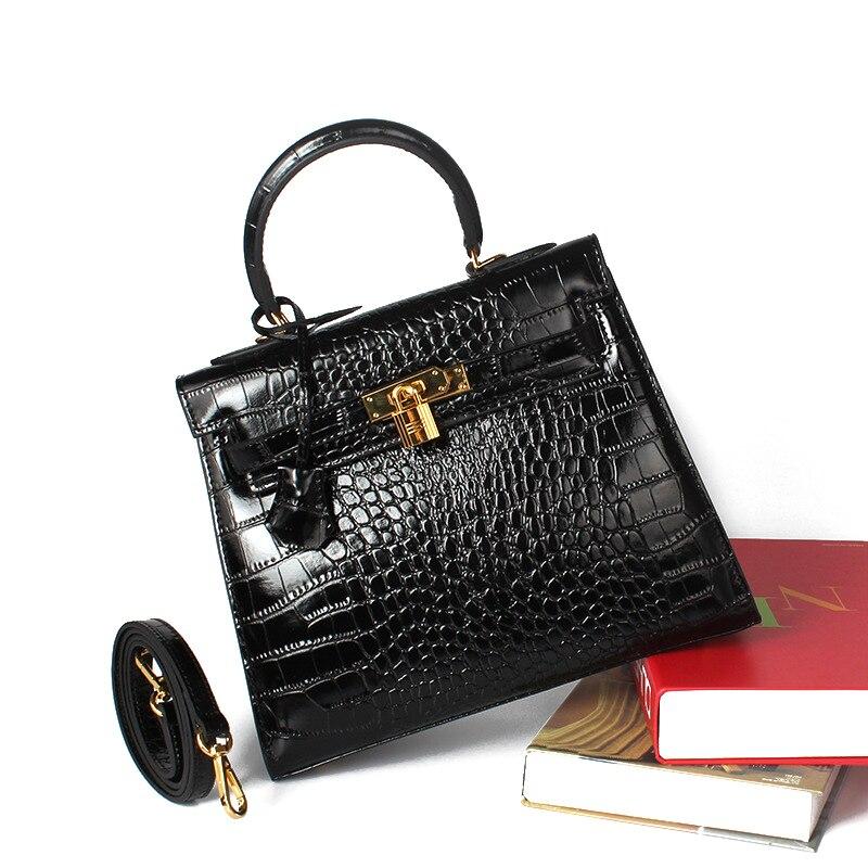 Genuine Leather Crocodile Bags Shoulder Bag Designer Handbags High Quality Tote