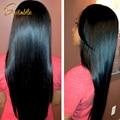 Ms lula peruano virgem cabelo liso 3 bundles não transformados virgem peruano reta tecer cabelo humano ali queen produtos para o cabelo