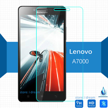 For Lenovo A7000 Tempered glass Screen Protector 9h 2.5 Safety Protective Film on A7600 A 7600 A 7000 Plus 5.5 inch