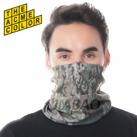 Factory Directly Wholesale Seamless Tube Cycling Skull Bandana Sunscreen Muffler Veil Head Scarves Multifunctional Bandana