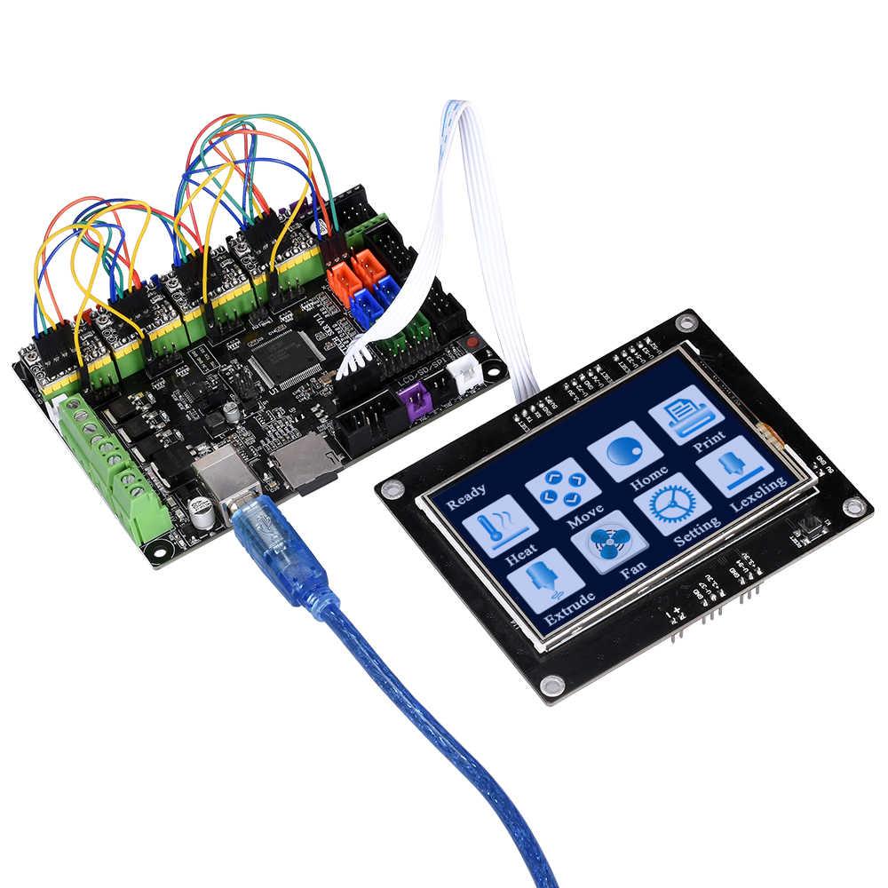 BIGTREETECH TFT35 V1 2 control panel TFT 3 5 inch full-color touch screen  MKS GEN V1 4 Control Board MKS base for 3d printer