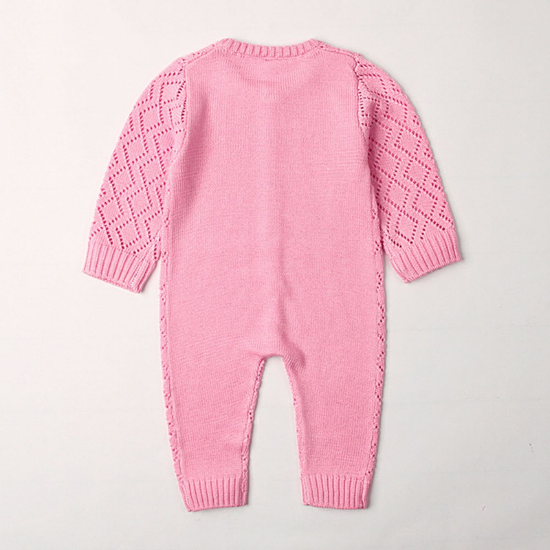 HTB11B9navfsK1RjSszgq6yXzpXav 2019 Newborn baby boy rompers Toddler Jumpsuit Girls Candy Color Knitted Baby Clothes Infant Boy Overall Children Outfit Spring