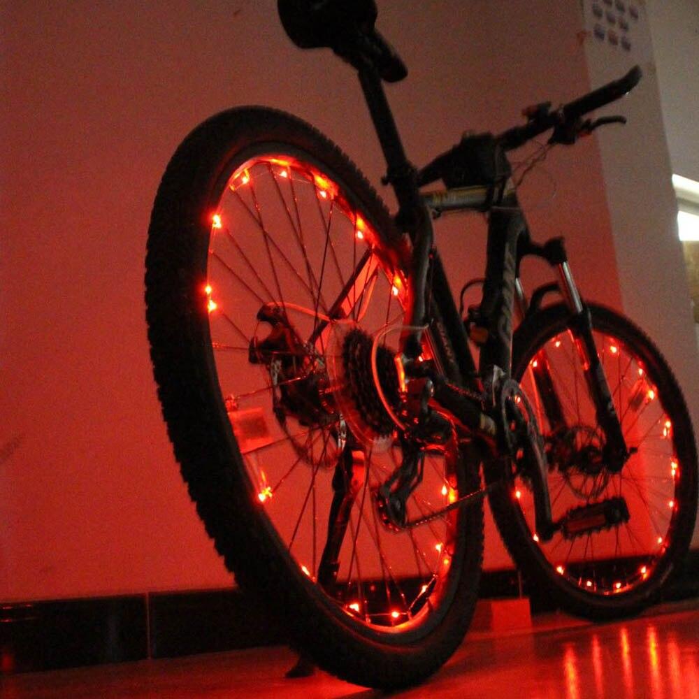 1pcs 20 LED Colorful Shining Waterproof Bicycle Lights ...