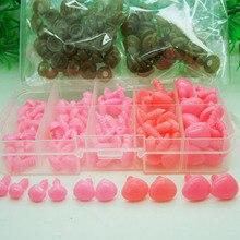 Аксессуары для кукол скрапбукинга нос 100 шт./кор. 8-15 мм розовый скрапбук кукла накладной нос Детские ручной работы поделки для скрапбукинга