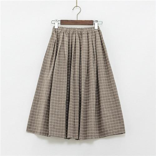 Online Get Cheap Long Plaid Skirts -Aliexpress.com | Alibaba Group
