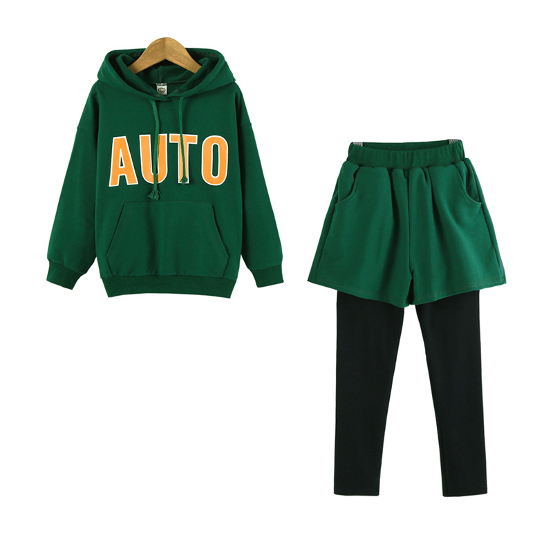 Baby Girl Boys Clothing Set for Kids Casual Letter Hooded Autumn Spring Children's Sports Suits Teenage Clothes 3-14 Years CA331