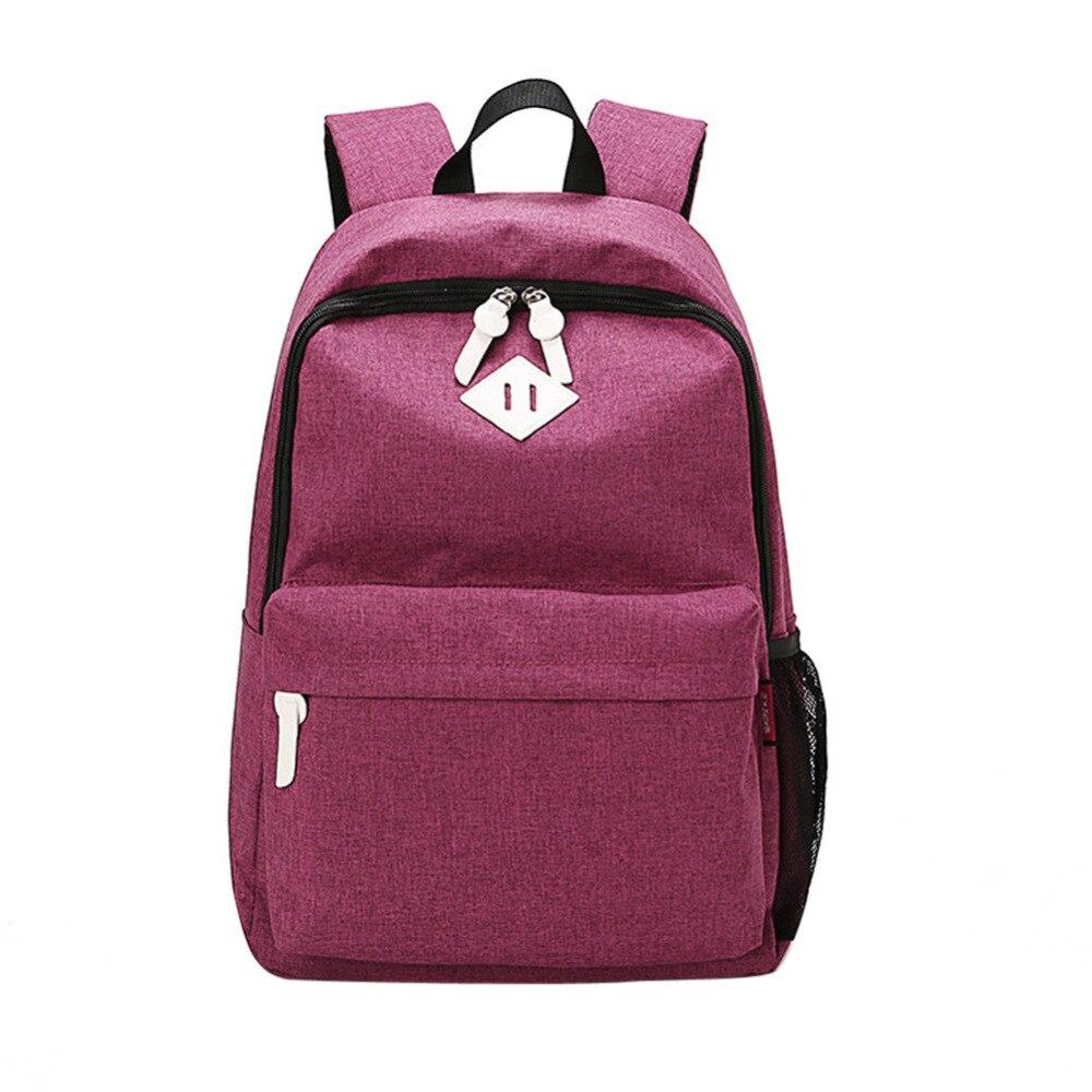 купить High Quality Women Men Canvas Backpacks Teenagers School Bag Backpack Travel Shoulder Bag Rucksack Laptop Bag Mochila Feminina онлайн