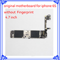 Para iphone 6 s 4.7 polegadas 16 gb original motherboard placa lógica mainboard sem touch id do sistema ios sem impressões digitais