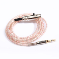 FAAEAL Hand Made Silver Copper Mixed Replacement Cable For AKG Q701 K702 K267 K712 K141 K171