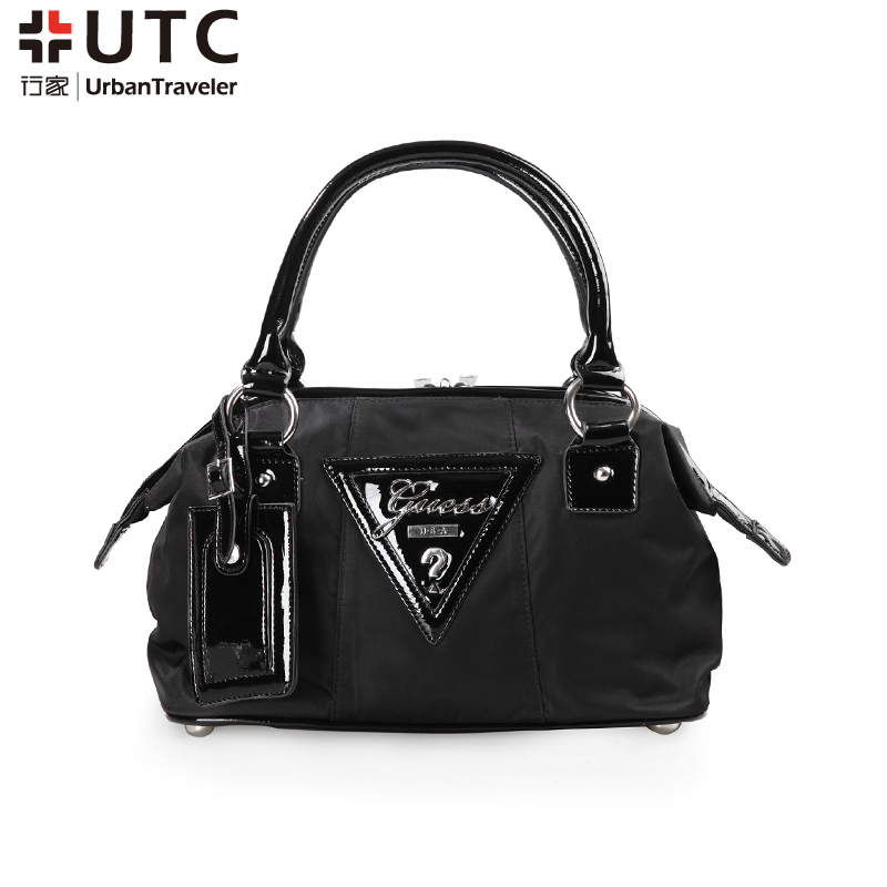 Black One Shoulder Bag Commercial Guess Fashion Women's Nylon 8nXON0Pwk