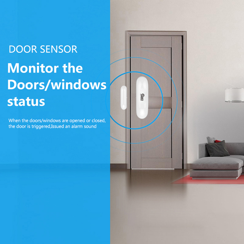 Image 3 - NEO COOLCAM NAS DS01Z ZWAVE Sensor Door/Window Sensor Compatible System with Z wave 300 series and 500 series Home Automation-in Sensor & Detector from Security & Protection