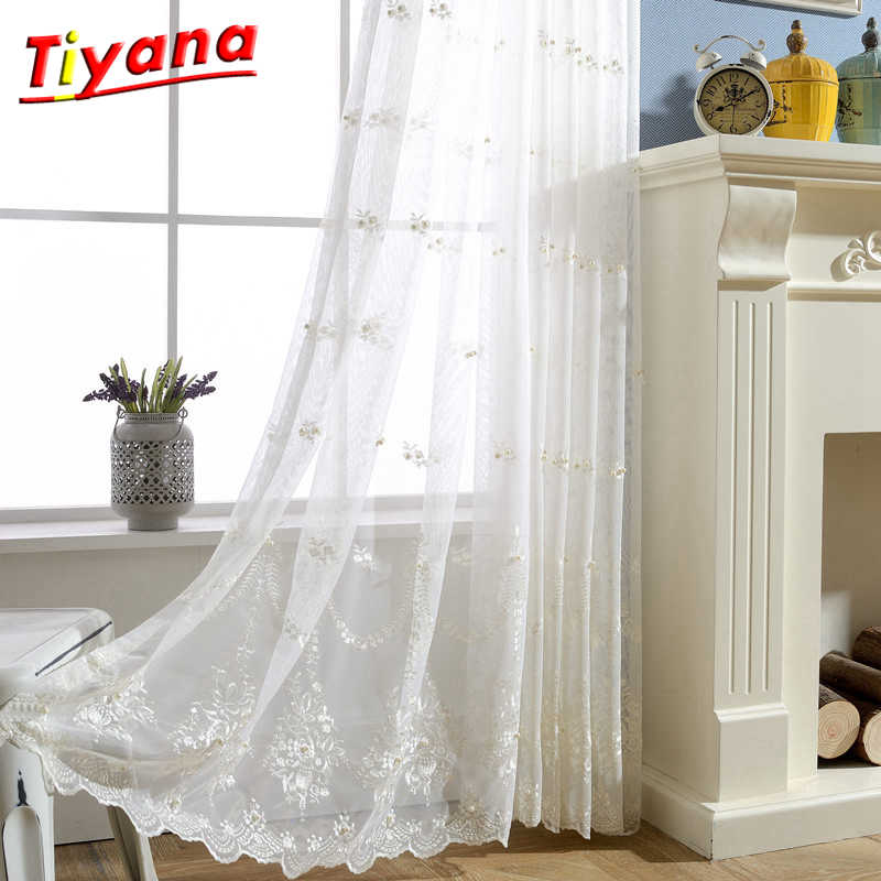 White Sheer Curtain 3x2 6 5x2 Tulle