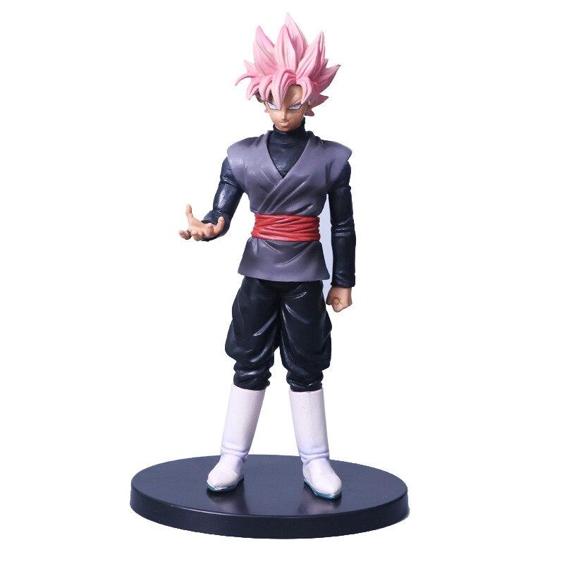 Dragon Ball Super Saiyan Rose Goku Black Zamasu PVC Gokou Black Figure 15cm