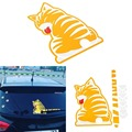Car Rear Window Wiper Sticker Moving Tail Stickers Dog Cat Decals Cartoon Funny Decoration Film Auto Accessories Car Styling
