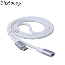 Elistooop Type C to Type c USB 3.1 Male to USB C Female Extension Data Cable Extender Cord 1m For Macbook