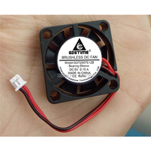10Pcs Gdstime DC 5V 1.25 2Pin Connector Micro Brushless Cooling Fan 2507 25mm 25x25x7mm