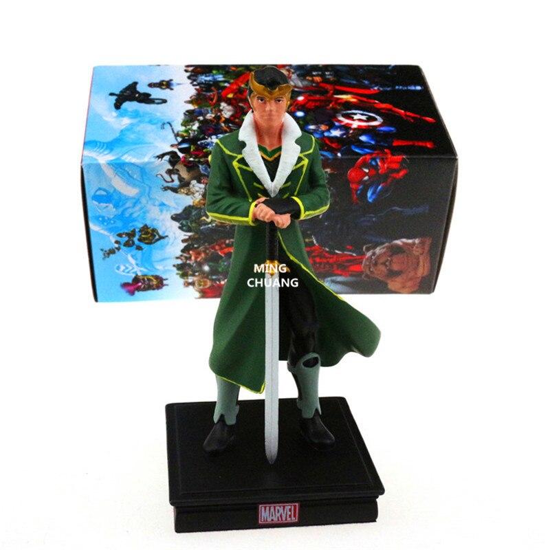 Avengers Infinity War Superhero Thor Brother Loki Supervillain Loki Laufeyson Resin Action Figure Collectible Model Toy BOX W83 зеркало dubiel vitrum loki