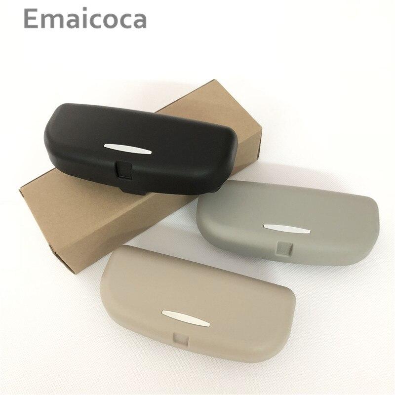 Emaicoca Car Sun Visor Eyeglasses Holder Cases For Acura