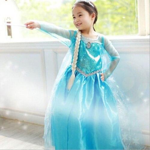 Promotion-High-Quality-Girls-Princess-Anna-Elsa-Cosplay-Costume-Kids-Party-Dress-SZ-3-8Y-1