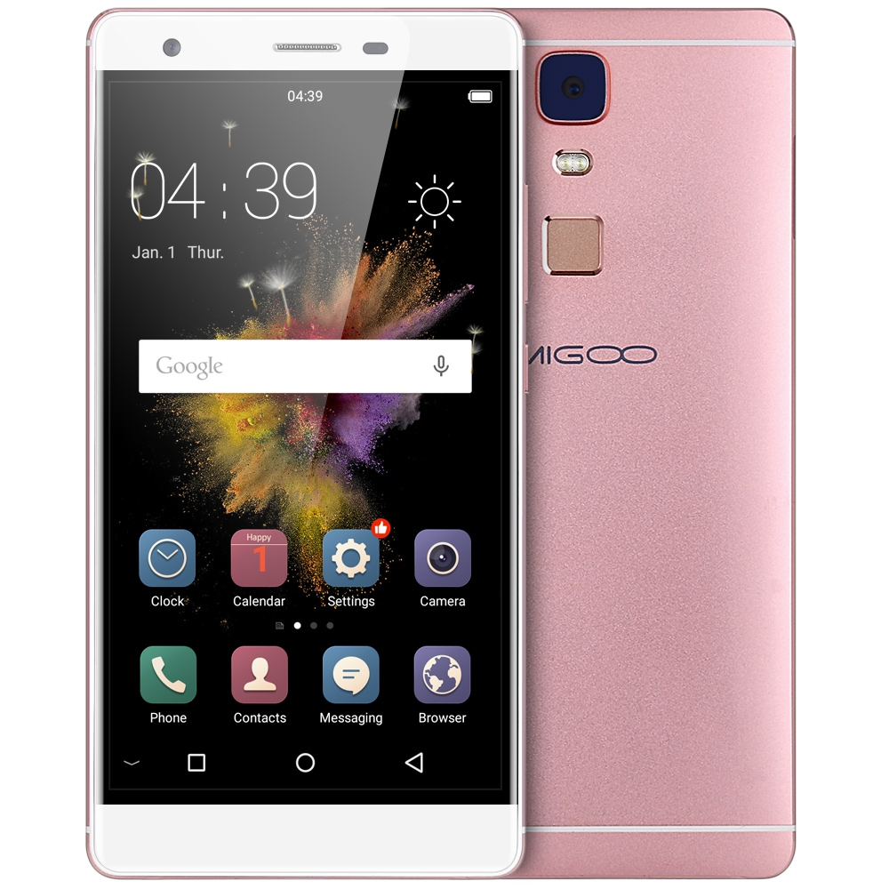 AMIGOO A5000 5 5 inch 4G Smartphone Android 5 1 MTK6735 Quad Core 1GB 8GB Fingerprint