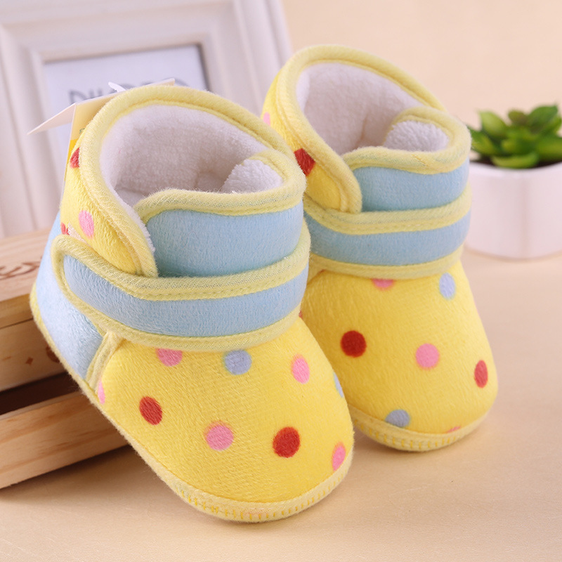619aa95bdc27 0 1 year old baby toddler boots shoes soft bottom cotton girls ...