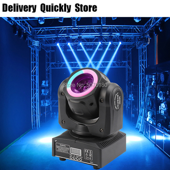 Dj Led 60W Beam Moving Head With Light Strip Running On The Head Good Use For Home Party Disco KTV Night Club Dance Show Time can charge mini both head energy saving originality led to beam the lantern show meeting wireless move downlights lo463