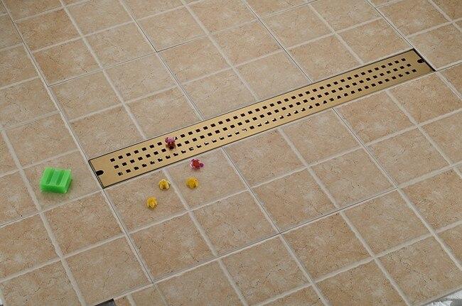 Badkamer Afvoer Rooster : Rvs badkamer afvoer mm lineaire lange douche rooster badkamer