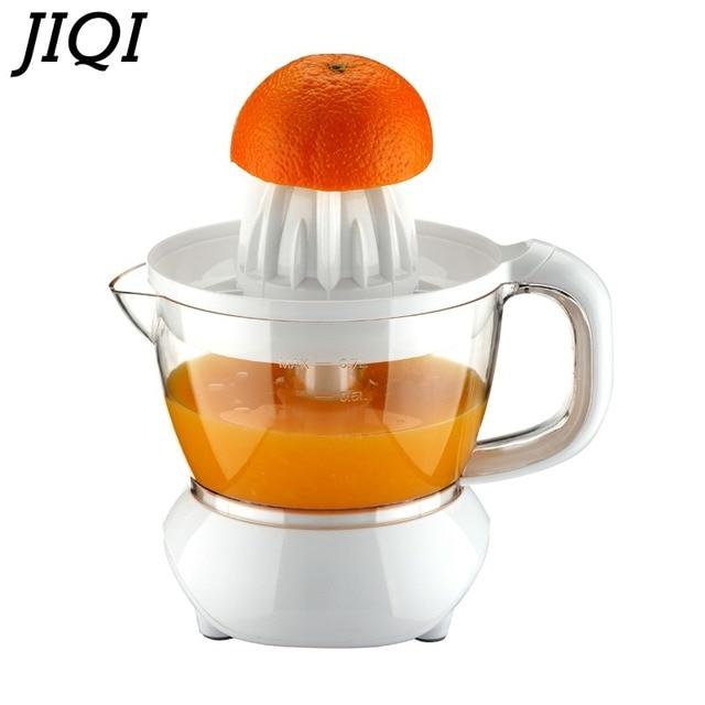 JIQI 220V Electric Juicer Oranges / Mandarins / Citrus / Lemon/ Grapefruit Juice Machine Orange Juicer