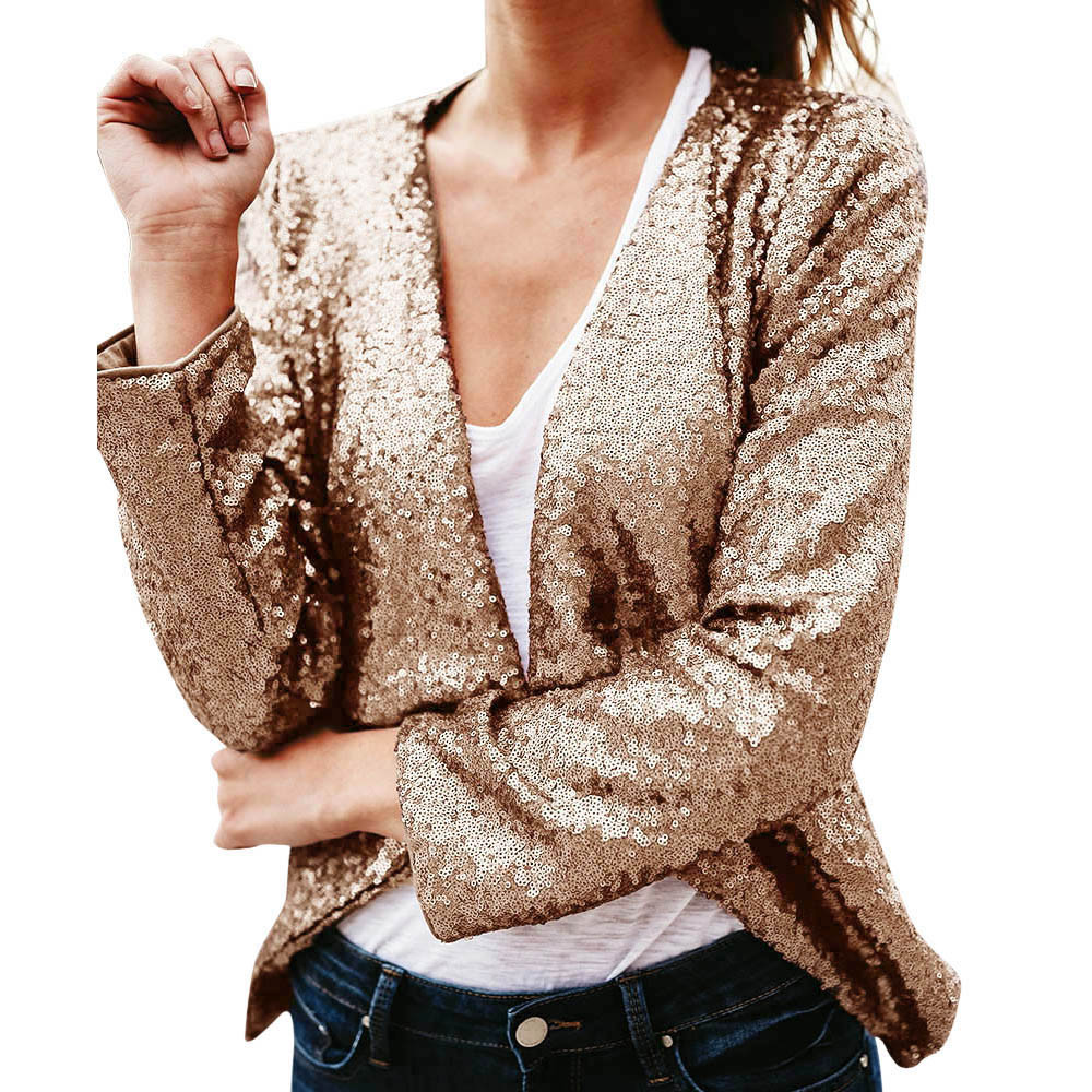 Buy womens gold cardigan and get free shipping on AliExpress.com