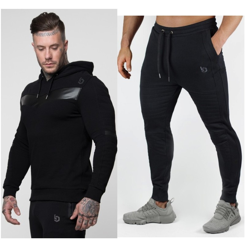 Males Style Lengthy Sleeve Camouflage Hoodies+Pants Set Male Tracksuit Open air Sport Go well with Males's Gyms Set Informal Sportswear Go well with