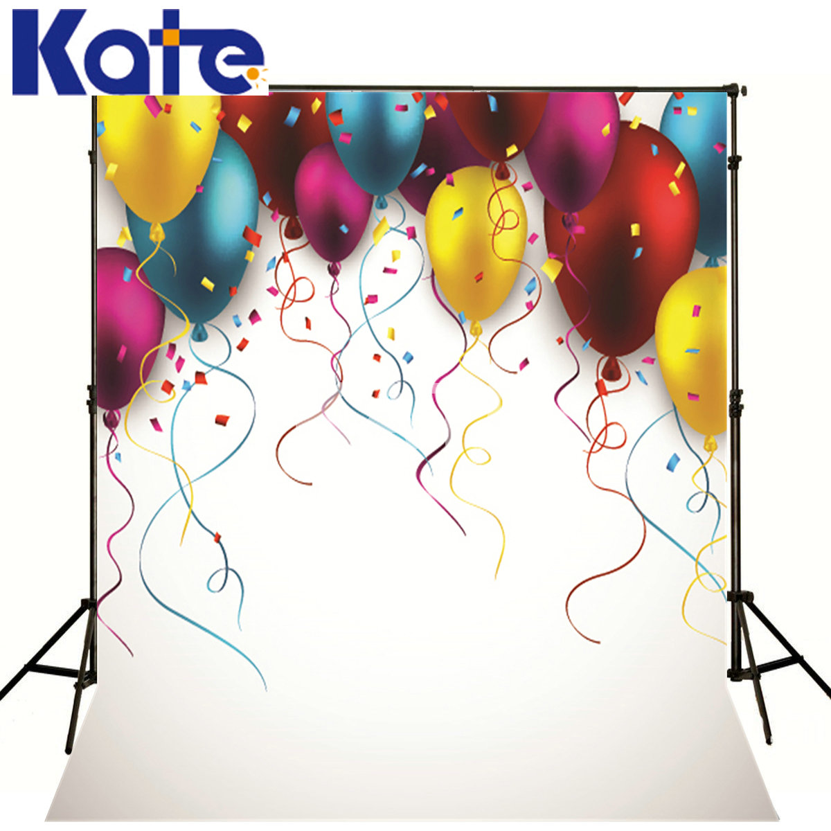 Kate Backdrops Photo Studio Props White Background Colorful Balloons Kate Background Backdrop Background For Photo our kate