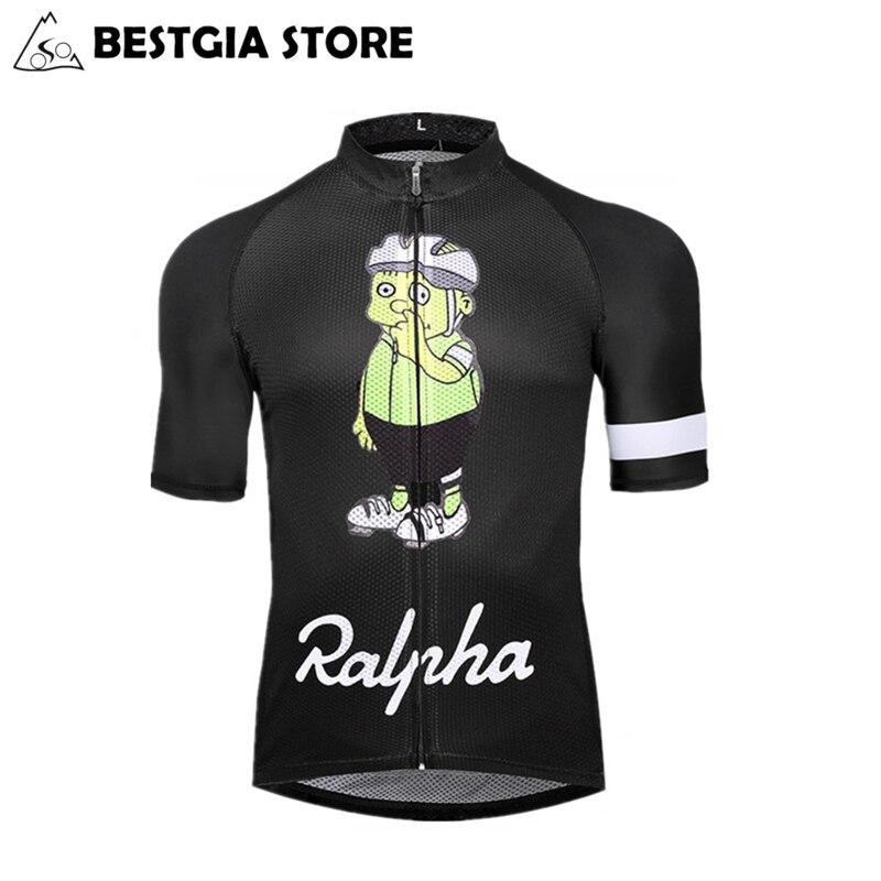 2017 New Custom Cycling Jersey Cartoon design bicycle Jersey MTB Road bike  jersey man women quick dry short cycling clothing 8126421a1