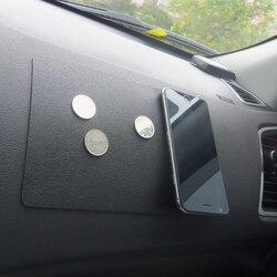 Auto Ornament Silikon Automobile Dashboard Anti Slip Matte doppelseitige Nicht-Slip Sticky Pad Für Telefon Sonnenbrille Halter 22,5*14,5 cm