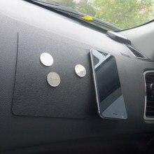 Tapis antidérapant Double face en Silicone pour tableau de bord, ornement de voiture, pour porte-lunettes de soleil, 22.5x14.5cm