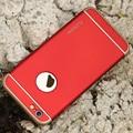 Floveme cajas del teléfono de lujo 3 en 1 híbrido para iphone 6 6 s más caso duro extraíble cubierta armor back coque para apple iphone 6 6 S
