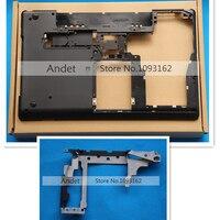 new orginal Lenovo ThinkPad E530 E535 15W Bottom Base Cover Lower Case + Hinge Set 04W4110 AM0NV000700