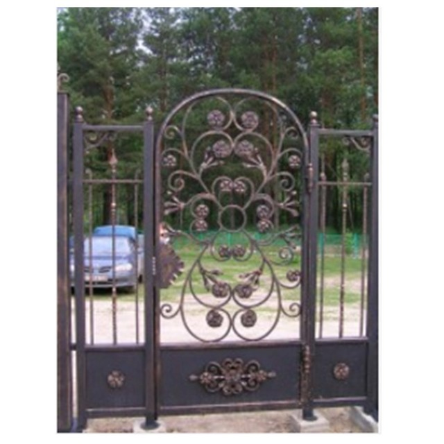 Contemporary Metal Gates House Gate Design In Driveway Detector