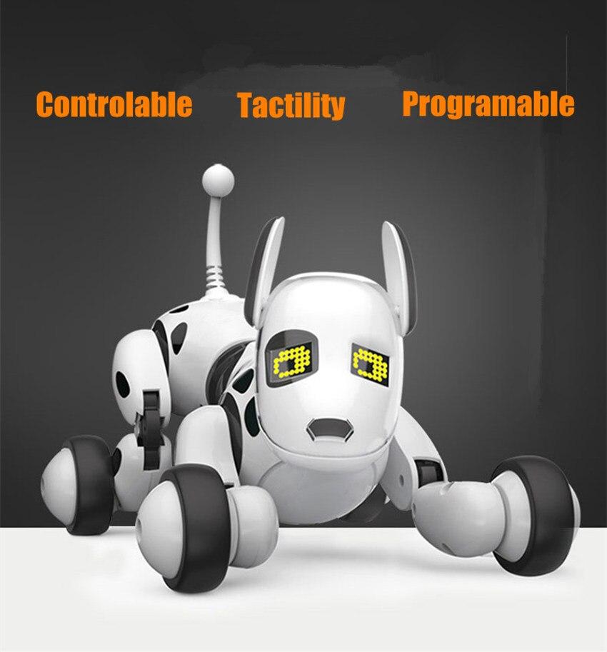 Nouveau programmable 2.4G télécommande sans fil Smart Robot chien enfants jouet Intelligent parlant Robot chien jouet électronique Pet kid cadeau - 2
