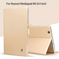 Silicon PU Leather Case For Huawei MediaPad M3 BTV W09 BTV DL09 8 4 Inch Smart
