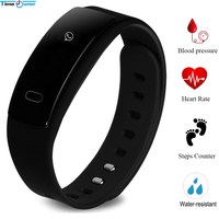 Time Owner QS80 Smart Band Heart Rate Blood Pressure Smart Bracelet WhatsApp Message Remind Fitness Wrist Band for IOS Xiao Mi