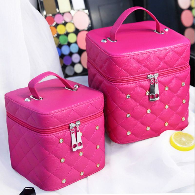 Cosmetic Bag Receive Bag Large Capacity Portable Waterproof Cosmetic Cases Multi-function Wash Gargle Contracted Lady