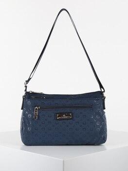 KISS & HUG hand bag with 3 compartments