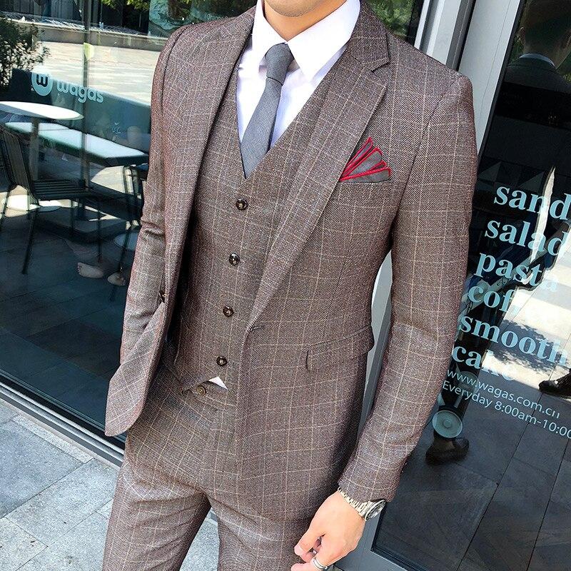 2019 Neue Stil Club In Herbst Und Winter Männer Lange Anzug Mann Der Koreanischen Stil Anzug Mantel Stylist Mantel Flut Herrenbekleidung & Zubehör