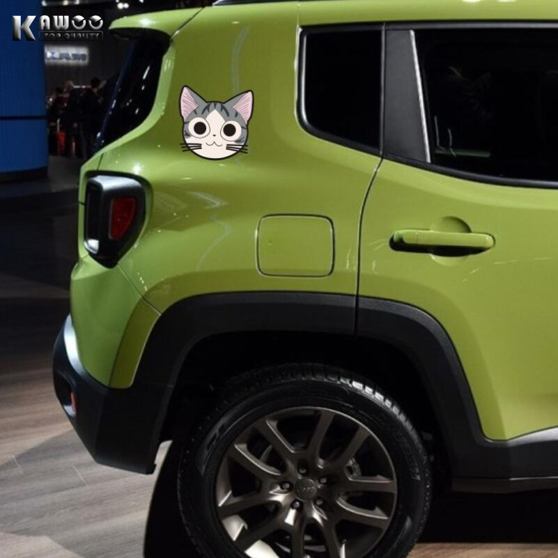 KAWOO 4 unids/lote Car Styling Accesorios de La Motocicleta Pegatinas de Dibujos