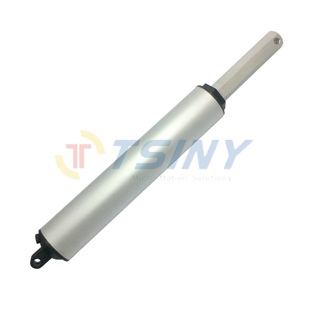 24V Stroke 100mm 140mm/s high speed Electric Linear value lift actuator motor DC Reciprocating motor.