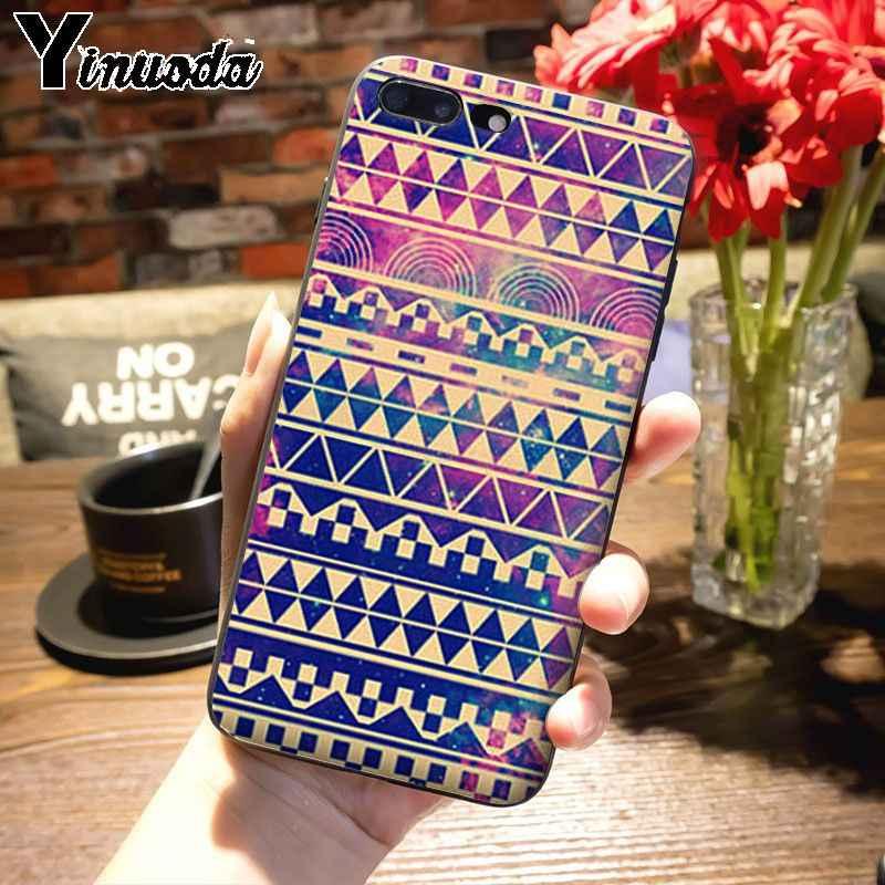 Ynuoda carbón mi nt madera y oro marroquí Super lindo teléfono casos para xiaomi mi 8 SE 6 note2 note3 Redmi 5 Plus note5 cubierta