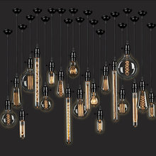 Винтажная лампа накаливания Эдисона в стиле ретро e27 220 В